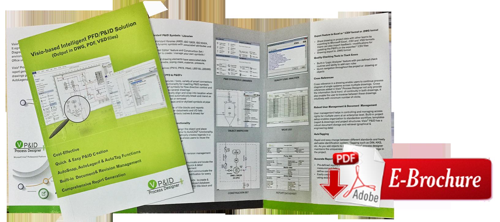 Intelligent Pid Software Process Flow Diagram Dwg Visio Designer Demo Video